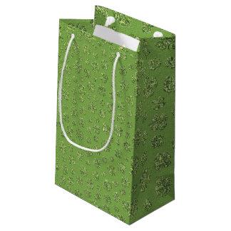 セントパトリックの日のクローバーの葉のギフトバッグ スモールペーパーバッグ