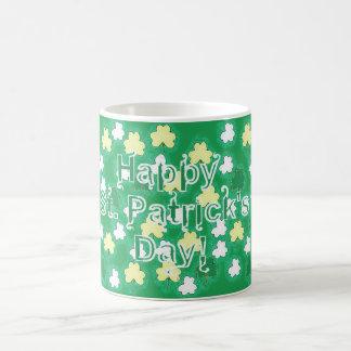 セントパトリックの日のシャムロック コーヒーマグカップ