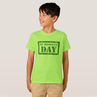 セントパトリックの日のスタンプのTシャツ Tシャツ