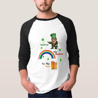 セントパトリックの日のルートの小妖精 Tシャツ