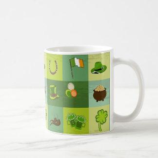 セントパトリックの日の付属品 コーヒーマグカップ