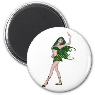 セントパトリックの日の妖精4 -緑の妖精 マグネット