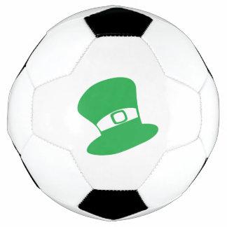 セントパトリックの日の帽子のサッカーボール サッカーボール