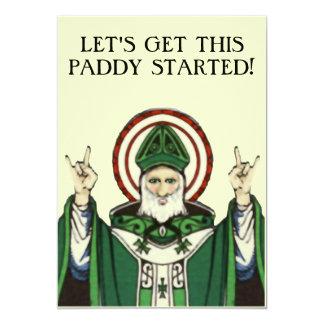 セントパトリックの日の招待状 カード