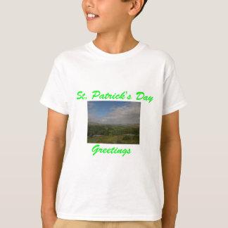 セントパトリックの日の挨拶 Tシャツ