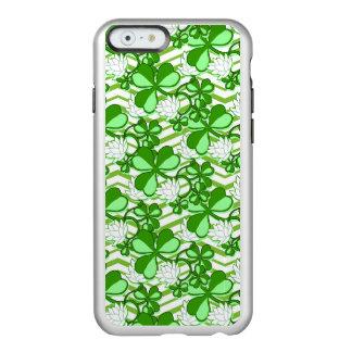 セントパトリックの日の緑のシャムロックアイルランド INCIPIO FEATHER SHINE iPhone 6ケース