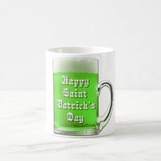 セントパトリックの日の緑のビールのジョッキ コーヒーマグカップ
