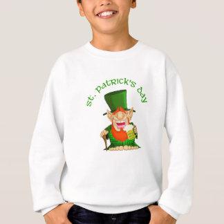セントパトリックの日の~ハンバーグO'Party スウェットシャツ