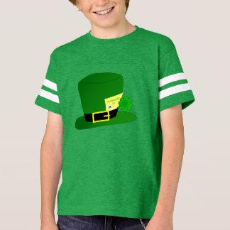 セントパトリックの日のFashionister Jr.のフットボールティー Tシャツ