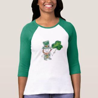 セントパトリックの日のTシャツ(女性) Tシャツ