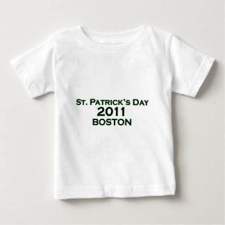 セントパトリックの日2011年-ボストン ベビーTシャツ