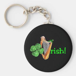 セントパトリックの日-アイルランド語は行きます! キーホルダー