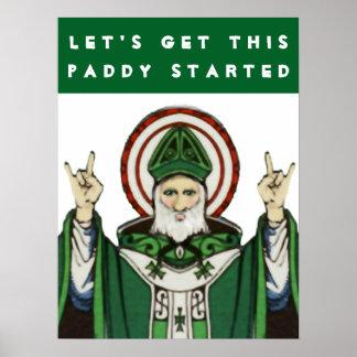 セントパトリックの日 ポスター