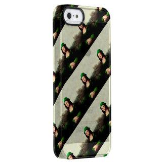 セントパトリックの日-幸運なモナ・リザ クリア iPhone SE/5/5sケース