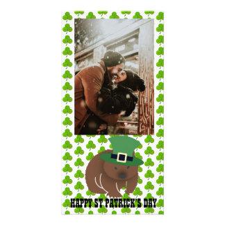 セントパトリックの日Wombat カード