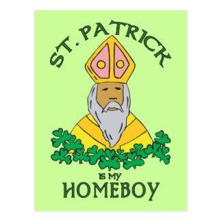 セントパトリックは私の同郷人です ポストカード