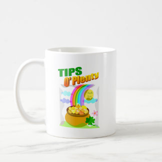 セントパトリック日の先端の瓶(マグ) コーヒーマグカップ