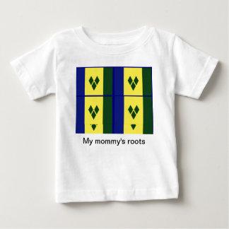 セントビンセントの旗 ベビーTシャツ