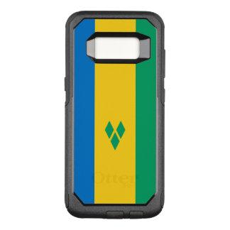 セントビンセントSamsungのオッターボックスの場合の旗 オッターボックスコミューターSamsung Galaxy S8 ケース