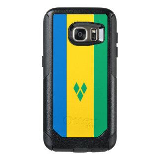 セントビンセントSamsungのオッターボックスの場合の旗 オッターボックスSamsung Galaxy S7ケース