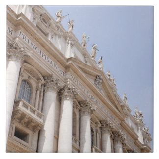 セントピーターのスクエア、バチカン市国、ローマ、イタリア タイル