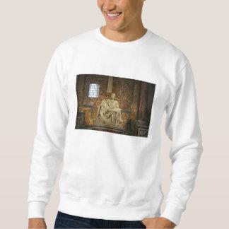 セントピーターのバシリカ会堂のミケランジェロのピエタ スウェットシャツ
