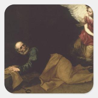 セントピーターは天使1639年によって放しました スクエアシール