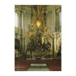 セントピーター1665年の椅子 キャンバスプリント