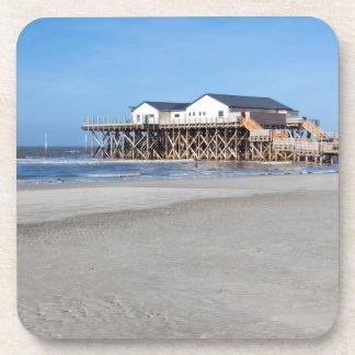 セントピーターOrdingのビーチの支柱の家 コースター