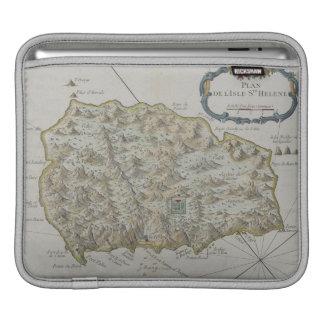 セントヘレナの島の地図 iPadスリーブ