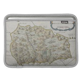 セントヘレナの島の地図 MacBook スリーブ