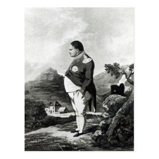 セントヘレナ1820年の島のナポレオン ポストカード