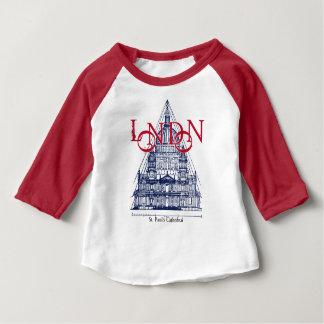 セントポールのカテドラルロンドンイギリス ベビーTシャツ