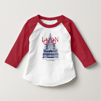 セントポールのカテドラルロンドンイギリス Tシャツ