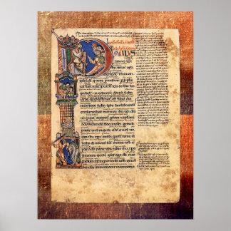 セントポールのルネサンスの書簡の照明 ポスター
