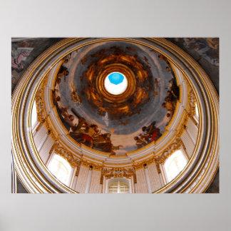セントポールの伽藍天井、Mdina ポスター