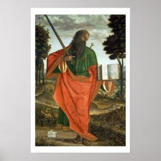 セントポール1520年(パネルの油) ポスター
