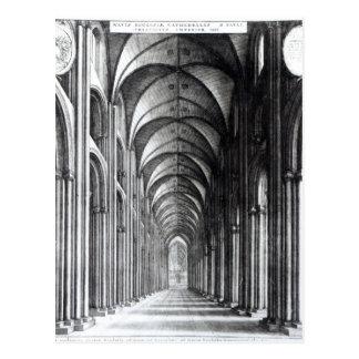 セントポール1658年のネーブのインテリア ポストカード