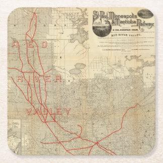 セントポール、ミネアポリスおよびマニトバの鉄道 スクエアペーパーコースター