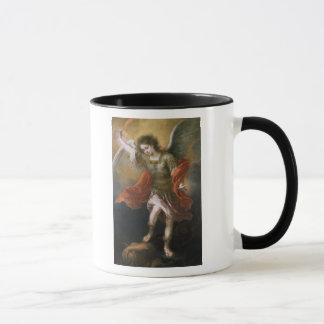 セントマイケルは地獄に悪魔を追放します マグカップ