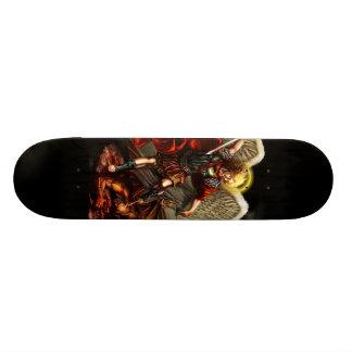 セントマイケル大天使のスケート板 18.7CM ミニスケートボードデッキ