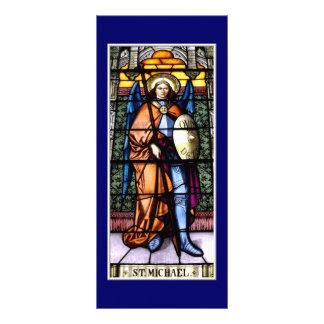 セントマイケル大天使のステンドグラス窓 ラックカード