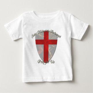 セントマイケル-盾 ベビーTシャツ