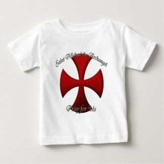 セントマイケル-鉄の十字 ベビーTシャツ