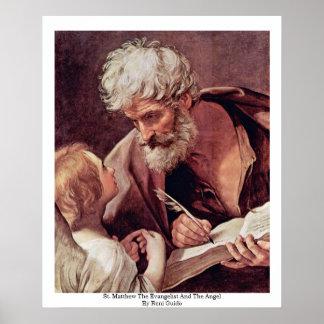 セントマシュー島福音伝道者および天使 ポスター