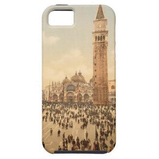 セントマークのスクエアII、ベニス、イタリアのコンサート iPhone SE/5/5s ケース