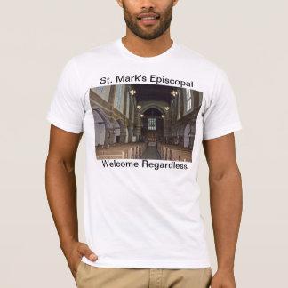 セントマークの米国聖公会のコミュニティ Tシャツ