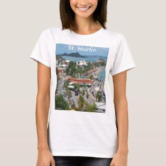 セントマーチンおよびMarigot湾の写真 Tシャツ