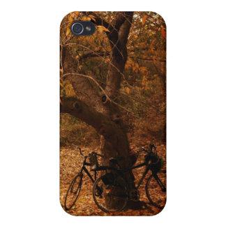 セントラル・パークの秋-ニューヨークシティ iPhone 4/4Sケース