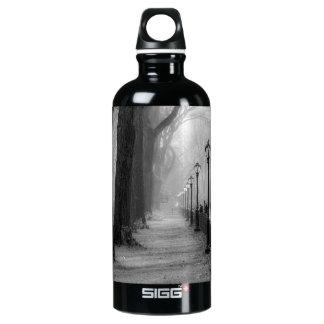 セントラル・パークの黒く及び白い景色 ウォーターボトル
